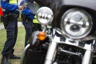 Un motard en excès de vitesse à Posieux