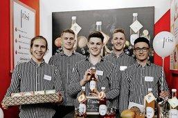 Les sirops de cinq collégiens fribourgeois font un tabac