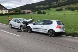 Quatre blessés dans un accident à Semsales