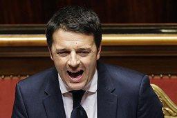 Renzi dynamite le paysage politique