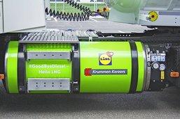Krummen et Lidl carburent au gaz naturel liquéfié