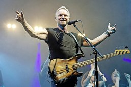 Sting, toujours piquant