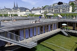 Le Seebad, oasis au cœur de Lucerne