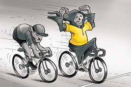 Raymond Poulidor encore vaincu