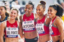 Le 4x100 m termine 4e, avec un nouveau record national