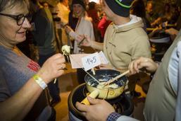 120 personnes ont participé au Mondial de la fondue