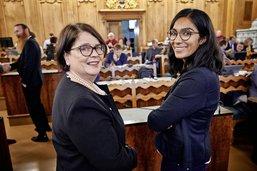 Deux femmes pour présider Fribourg