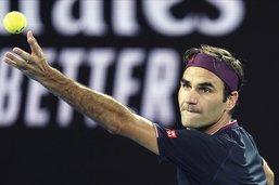 Roger Federer en mode démonstration