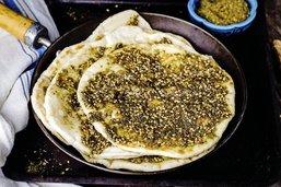 Zaatar, cartographie gustative