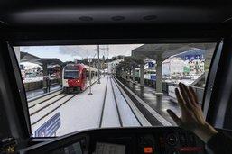 Inauguration de la nouvelle gare de Châtel-St-Denis