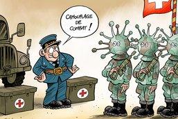 Guerre au coronavirus: l'armée mobilisée