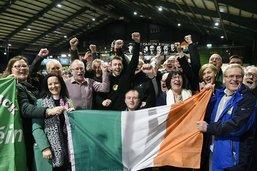 Législatives en Irlande: le Sinn Fein deuxième force au Parlement
