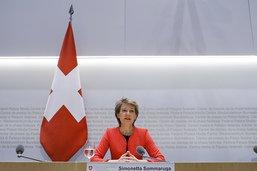 S. Sommaruga: la Suisse doit accroître son autonomie