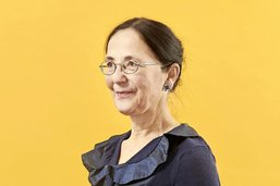 Marion Graf, le verbe ambulant