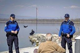 Les policiers sont en première ligne