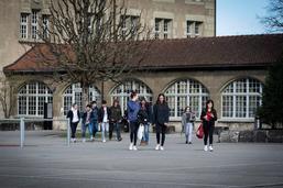 Les collégiens de St-Michel se sont dit au revoir