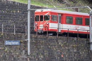 Eboulement à Göschenen: trafic MGB perturbé