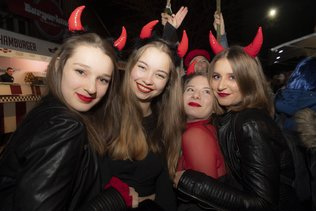 Un samedi soir au carnaval d'Estavayer