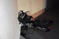 Un motard se blesse grièvement à Fribourg