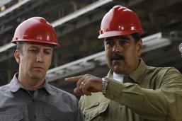 Maduro attribue le pétrole à un homme sanctionné par Washington