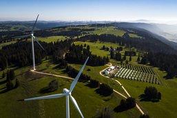La Suisse toujours à la traîne pour l'énergie solaire et éolienne