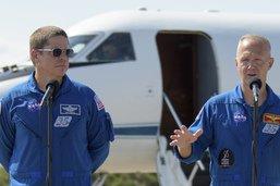 Astronautes en Floride à 7 jours du premier vol habité de SpaceX