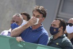 Diffusion d'une vidéo truffée de dérapages du président brésilien