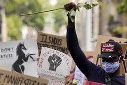 La vague de manifestations contre le racisme gagne l'Europe