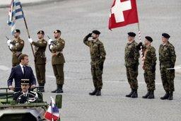 La Suisse à l'honneur lors du 14Juillet