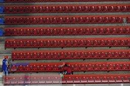 Ruée sur les sièges de la BCF Arena