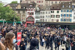 Des manifestations dans plusieurs villes suisses contre le racisme