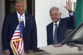 Trump et son homologue mexicain jouent la bonne entente
