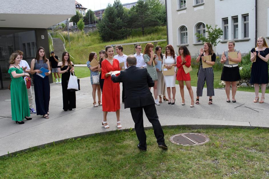 Remise des diplômes au Collège Gambach