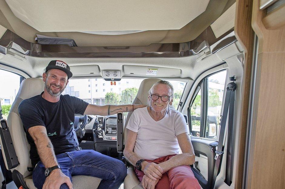 Virée «trop géniale» en camping-car