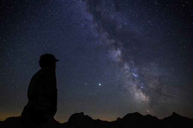 Une nuit à la belle étoile filante