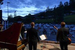 Le drive-in du Festival du Lied a séduit le public