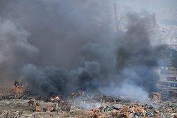 Apocalypse à Beyrouth: plus de 100 morts et 300'000 sans-abri
