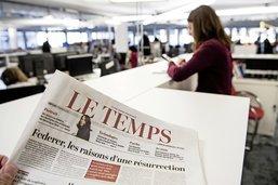 Le prix du journal  Le Temps  à fixer