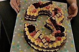 La passion des gâteaux en forme de chiffre