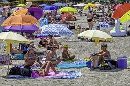 La plage à l'heure du coronavirus