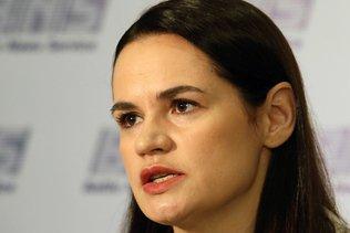 """L'opposante Tikhanovskaïa demande à l'ONU une réaction """"ferme"""""""