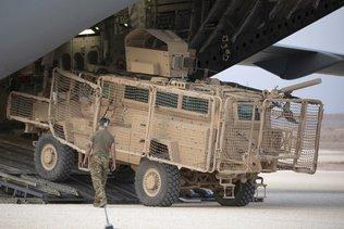 L'armée américaine renvoie des blindés en Syrie