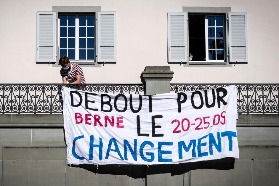 Rencontre organisée par la Grève du climat Fribourg