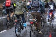 Rassemblement non autorisé de cyclistes à Lausanne
