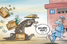 La Chine aussi travaille à l'élaboration d'un vaccin contre le coronavirus