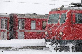 Danger d'avalanche: le trafic perturbé dans les Alpes grisonnes