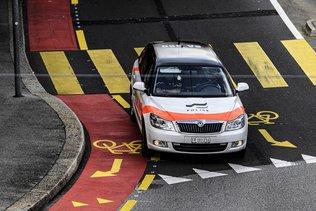 La police intervient pour un rodéo routier