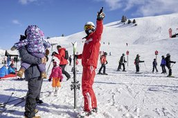 Les écoles de ski en demi-teinte