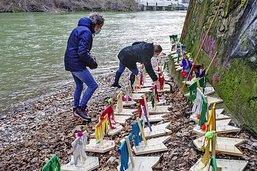Des bateaux porteurs d'espoir dans la Sarine