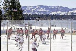 La NHL au lac Tahoe: c'était trop beau!